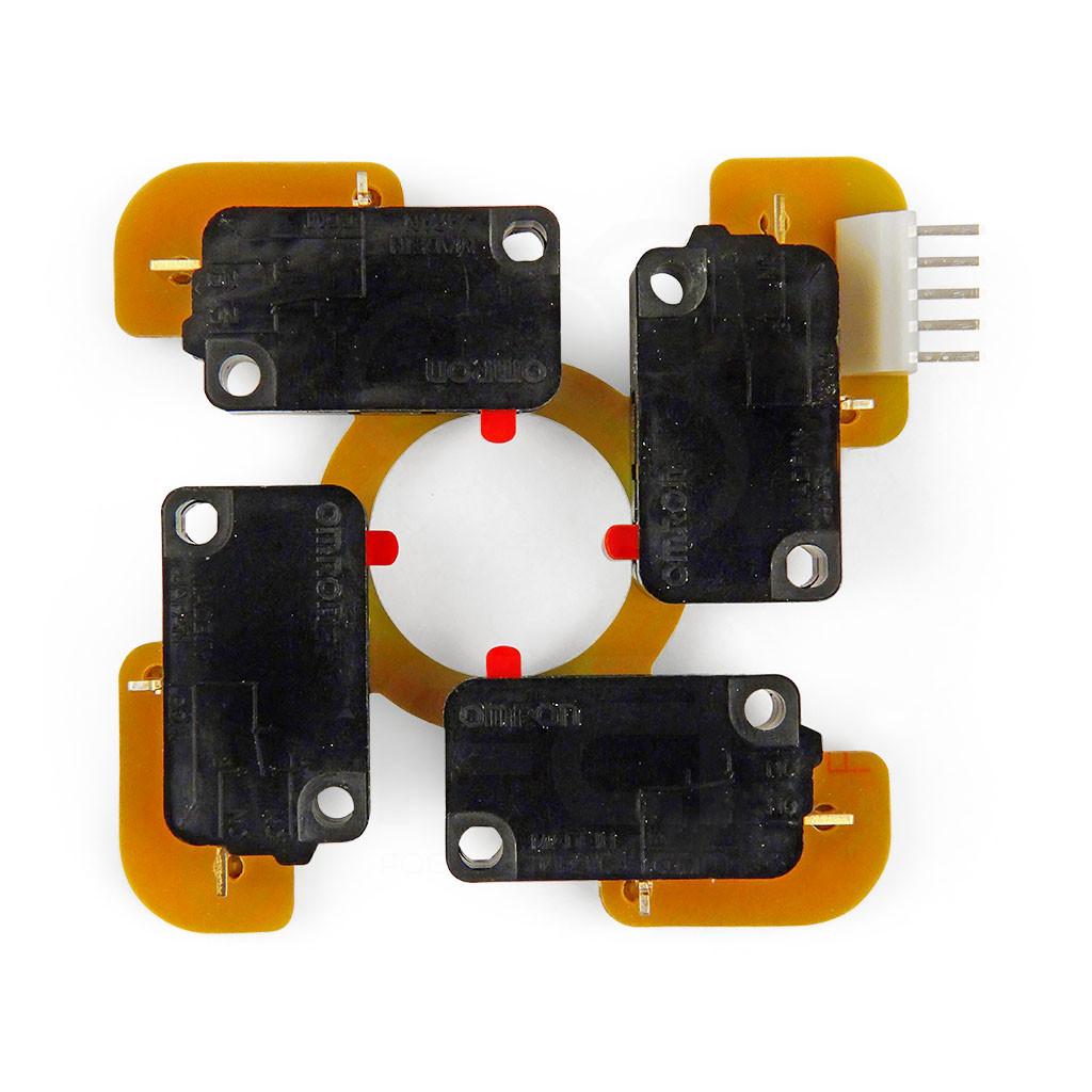 joystick parts sanwa jlf h 5 pin wiring harness focus attack Motor Wiring Diagram