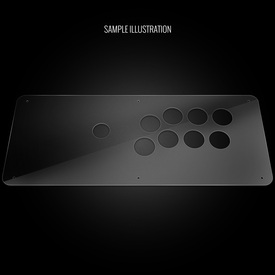 Blank Plexi Cover for MadCatz SFxT/Pro