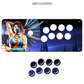 Artwork Print and Cut for MadCatz SFxT/Pro Cover