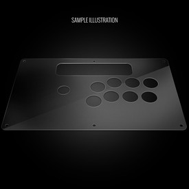 Blank Plexi Artwork Cover for MadCatz TE.S+
