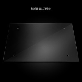 Blank Plexi Cover for MadCatz TE Bottom
