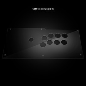 Blank Plexi Cover for Qanba Obsidian