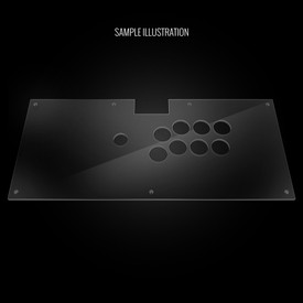 Blank Plexi Cover for Qanba Dragon