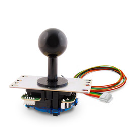 Sanwa JLF-TPRG-8BYT-SK Higher Tension Silent Microswitch Joystick