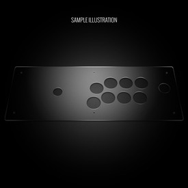 Blank Plexi Cover for Hori RAP3 SA/SX Kai