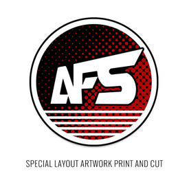 Artwork Print and Cut for AFS Special Custom Panel
