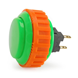 Sanwa OBSN 30mm Screw Button Green