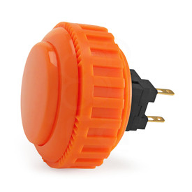 Sanwa OBSN 30mm Screw Button Orange