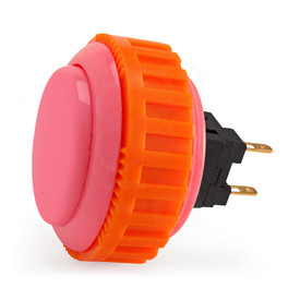 Sanwa OBSN 30mm Screw Button Pink