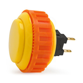 Sanwa OBSN 30mm Screw Button Yellow