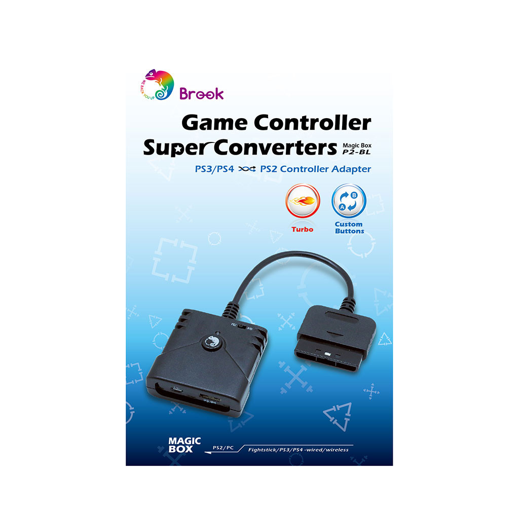 Brook Super Converter: PS3/PS4 to PS2/PS1 Adapter