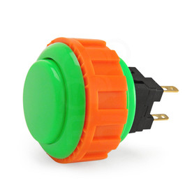 Sanwa OBSN 24mm Screwbutton - Green