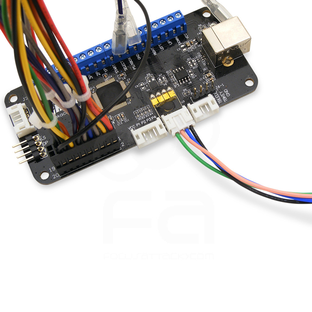 4-Pin L3/R3/Touchpad Button Harness for Brook Universal Fighting Board