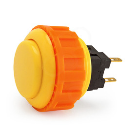 Sanwa OBSN 24mm Screwbutton - Yellow