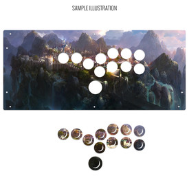 Artwork Print and Cut for HitBox (PS3/PS4 version)