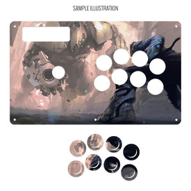 Artwork Print and Cut for MadCatz Soul Calibur V SOUL Edition Regular