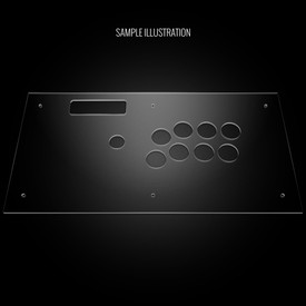 Blank Plexi Artwork Cover for MadCatz V.S. Top Panel