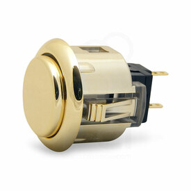 Sanwa OBSJ 24mm Pushbutton Metallic Gold