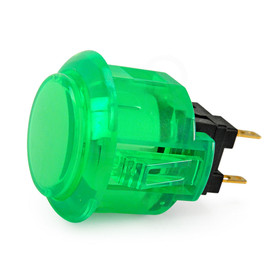 Sanwa OBSC 24mm Translucent Pushbutton - Green