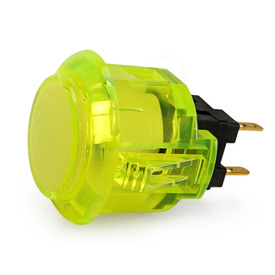 Sanwa OBSC 24mm Translucent Pushbutton - Yellow