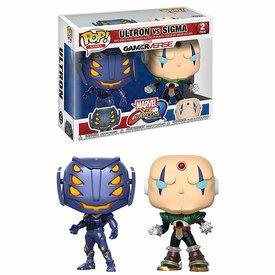Funko Marvel vs Capcom Infinite Ultron vs Sigma Pop (2pk)