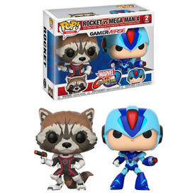 Funko Marvel vs Capcom Infinite Rocket vs Megaman Pop (2pk)