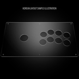 Blank Plexi Cover for ETokki Omni (PS3/PS4 version)