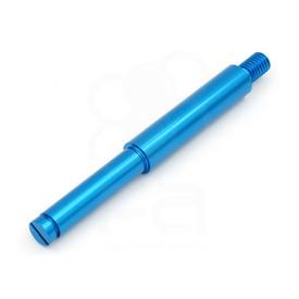 Sanwa JLF Aluminum Standard Joystick Shaft: Blue