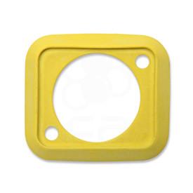 Neutrik SCDP Rubber Boot for NAUSB, NE8FDP - Yellow