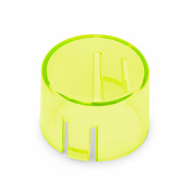 Mix & Match Seimitsu PS-14-DNK Translucent 24mm Convex Cap: Light Green