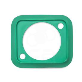 Neutrik SCDP Rubber Boot for NAUSB, NE8FDP -  Green