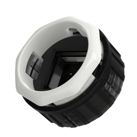 HBFS-G3 30mm Mechanical Switch Screwbutton Base: White [RESERVE]