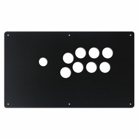 "AllFightSticks 14"" Button Panel - Vewlix 8 Layout"