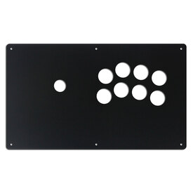 "AllFightSticks 14"" Button Panel - Noir 8 Layout"
