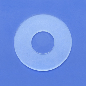 "Clear 38mm 1/16"" Acrylic Dustwasher - Fits Sanwa JLF with Shaft Cover"