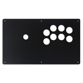 "AllFightSticks 14"" Button Panel - Sega 2P Type R Layout"