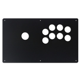 "AllFightSticks 14"" Button Panel - Sega 2P Type R Layout Korean Lever"