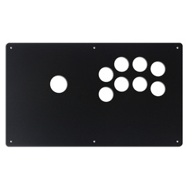 "AllFightSticks 14"" Button Panel - Sega 2P Layout Korean Lever"