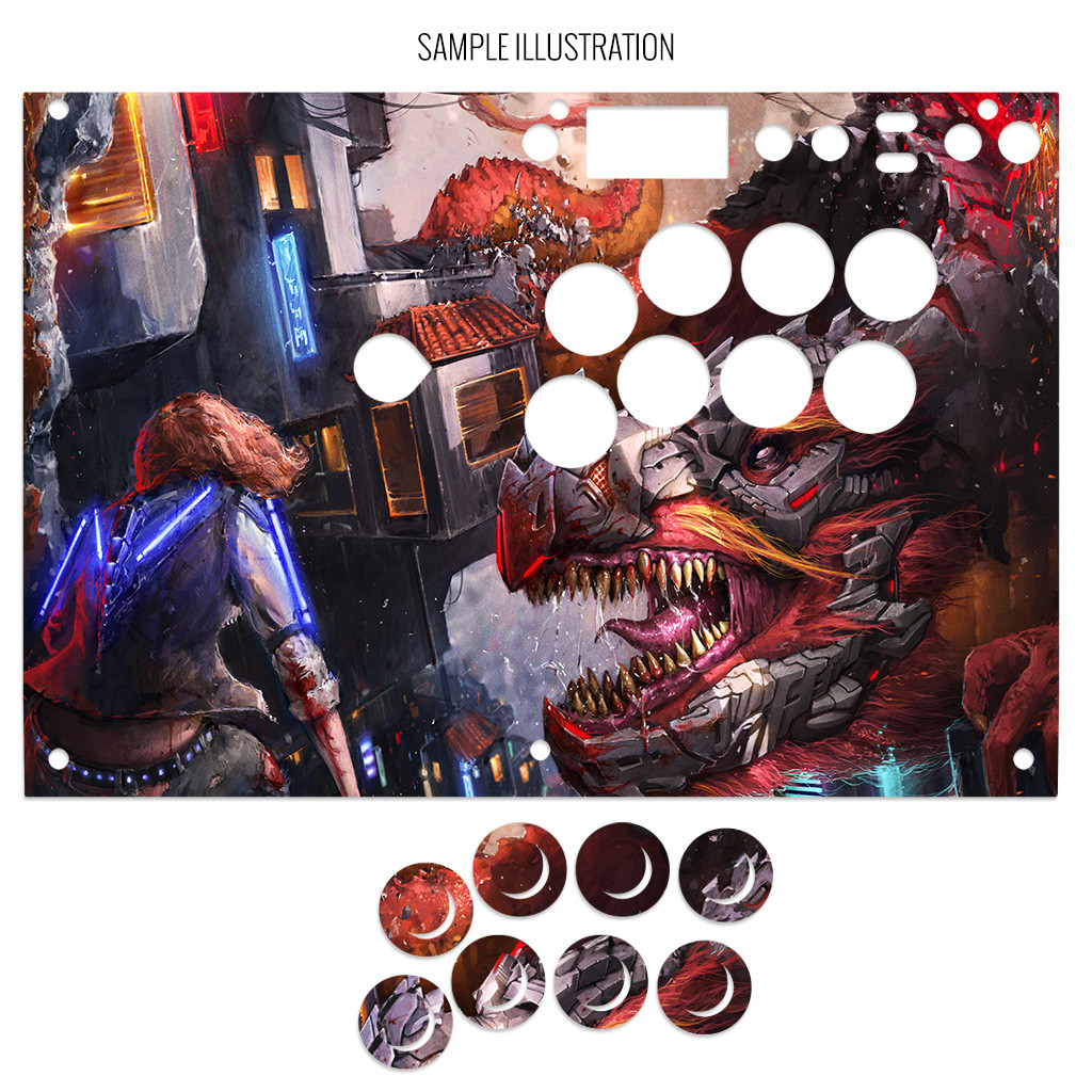 Save 25% on the all-new Razer Panthera EVO Fightstick Artwork Print and Cut