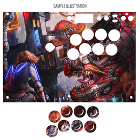 Artwork Print and Cut for Razer Panthera EVO