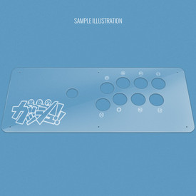 Custom Etch Plexi Cover for MadCatz SFxT/Pro