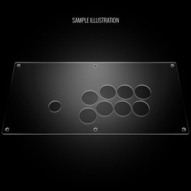 Blank Plexi Cover for Nacon Daija (PS4)