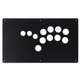 "AllFightSticks 14"" Button Panel - Shiokenstar Layout"