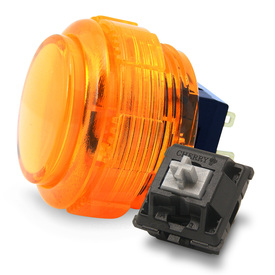 Crown/Samducksa SDB-202C MX 30mm Translucent Screwbutton Orange