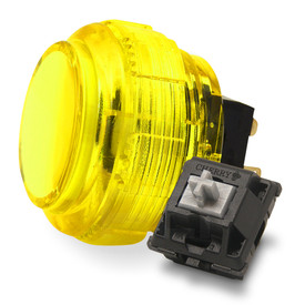 Crown/Samducksa SDB-202C MX 30mm Translucent Screwbutton Yellow