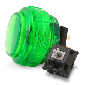 Crown/Samducksa SDB-202C MX 30mm Translucent Screwbutton Green