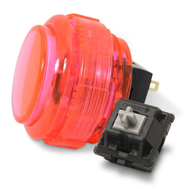 Crown/Samducksa SDB-202C MX 30mm Translucent Screwbutton Pink