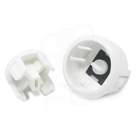 Sanwa OBSFE Silent 30mm Pushbuttons: White