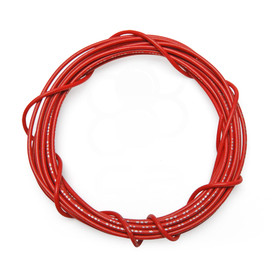 22 AWG Wire By-The-Foot: Red