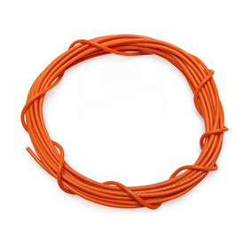 22 AWG Wire By-The-Foot: Orange